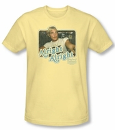 Dazed And Confused T-shirt Alright Alright Adult Banana Slim Fit Shirt