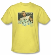 Dazed And Confused T-Shirt Alright Alright Adult Banana Tee Shirt