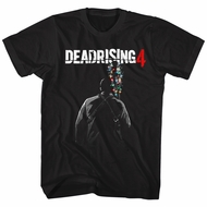 Dead Rising 4 Shirt Christmas Lights Bat Black T-Shirt