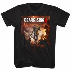 Dead Rising 4 Shirt Game Cover Black T-Shirt