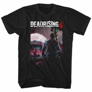 Dead Rising 4 Shirt Wilmette Theater High Logo Black T-Shirt