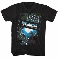 Dead Rising Video Game Shirt Zombie Film Black T-Shirt