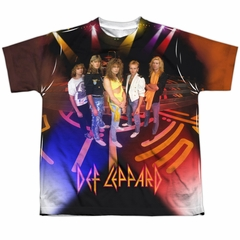 Def Leppard On Stage Sublimation Youth Shirt