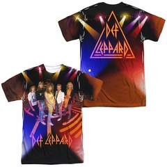 Def Leppard On Stage Uniform Sublimation Shirt Front/Back Print