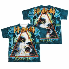 Def Leppard Shirt Hysteria Sublimation Shirt Front/Back Print