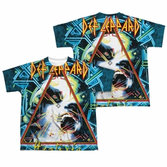 Def Leppard Shirt Hysteria Sublimation Youth Shirt