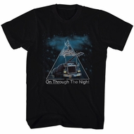 Def Leppard Shirt Through The Night Black T-Shirt