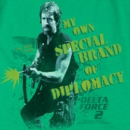Delta Force 2 Special Diplomacy Shirts
