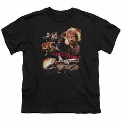 Delta Force Kids Shirt Action Pack Black T-Shirt