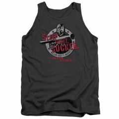 Delta Force Tank Top Sleep Tight Charcoal Tanktop