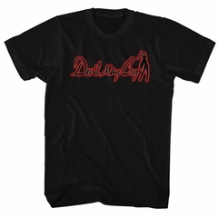 Devil May Cry Video Game Shirt DMC Logo Black T-Shirt