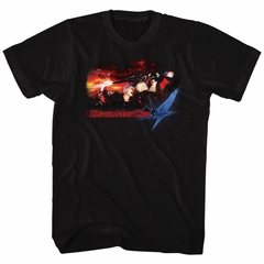 Devil May Cry 4 Shirt Face Your Demons Black T-Shirt
