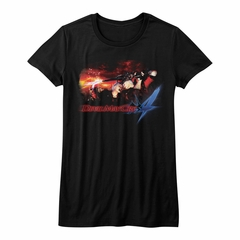 Devil May Cry 4 Shirt Juniors Face Your Demons Black T-Shirt