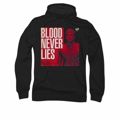 Dexter Hoodie Blood Never Lies Black Sweatshirt Hoody
