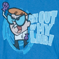 Dexter's Laboratory Get Out Shirts