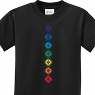 Diamond Chakras Kids Shirts