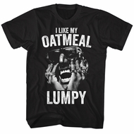 Digital Underground Shirt I Like My Oatmeal Lumpy Black T-Shirt