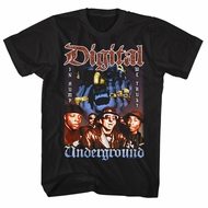 Digital Underground Shirt In Hump We Trust Black T-Shirt