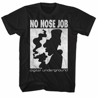 Digital Underground Shirt No Nose Job Black T-Shirt