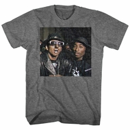 Digital Underground Shirt Shock G And Tupac Dark Grey T-Shirt