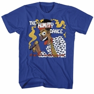 Digital Underground Shirt The Humpty Dance Royal Blue T-Shirt