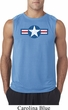 Distressed Air Force Star Mens Sleeveless Shirt