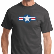 Distressed Air Force Star Shirts