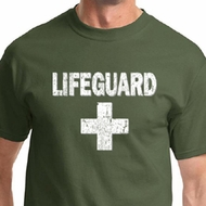Distressed Lifeguard Mens Shirts