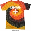 Distressed Lifeguard Tie Dye Shirt