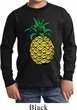 Distressed Pineapple Kids Long Sleeve Shirt
