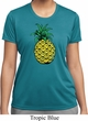 Distressed Pineapple Ladies Moisture Wicking Shirt