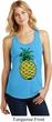 Distressed Pineapple Ladies Racerback Tank Top