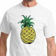 Distressed Pineapple Mens Shirts