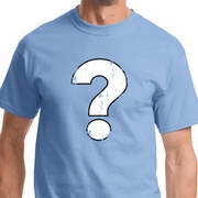 Distressed Question Mark Shirts