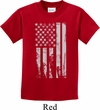 Distressed Stars and Stripes Flag Kids Shirt