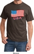 Distressed USA Flag Shirt