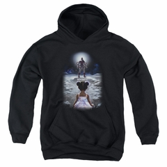 Divinity Kids Hoodie Moon Child Black Youth Hoody