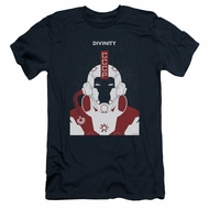 Divinity Slim Fit Shirt Helmet Navy T-Shirt
