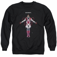Divinity Sweatshirt Space Adult Black Sweat Shirt