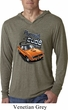 Dodge 1970 Plymouth Hemi Cuda Lightweight Hoodie Shirt