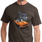 Dodge 1970 Plymouth Hemi Cuda Mens Shirts