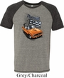 Dodge 1970 Plymouth Hemi Cuda Mens Tri Blend Shirt
