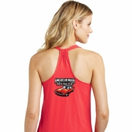 Dodge American Made Muscle Back Print Ladies Shirts