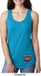 Dodge American Made Muscle Bottom Print Ladies Ideal Tank Top