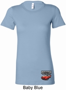 Dodge American Made Muscle Bottom Print Ladies Shirts