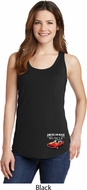 Dodge American Made Muscle Bottom Print Ladies Tank Top