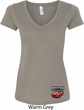 Dodge American Made Muscle Bottom Print Ladies V-Neck Shirt