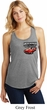Dodge American Made Muscle Pocket Print Ladies Racerback Tank Top