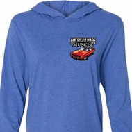 Dodge American Made Muscle Pocket Print Lightweight Hoodie Tee