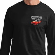 Dodge American Made Muscle Pocket Print Long Sleeve Shirt